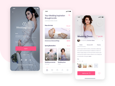 Wedding App ios user interface wedding ux ui app sketch