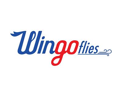 Wingoflies Logo symbol logo design logo 360 video fly wingo thy turkish airlines türk hava yolları
