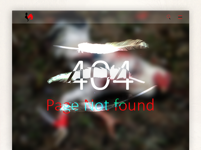 Missing Rooster ux ui flat take a tab bro page not missing illustration found error color 404