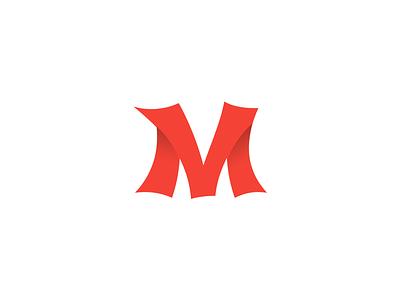 M Monogram symbol monogram mark m logotype logo illustration identity design avatar