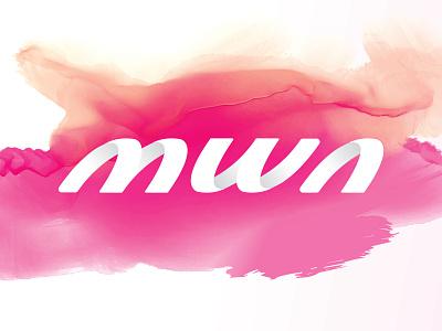 Multimedia Wireless Networks (MWN) symbol mark logotype logo letterform letter identity