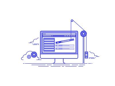 Web Services ui lineart vector flat webdevelopment webdesign web testimonials team services icons