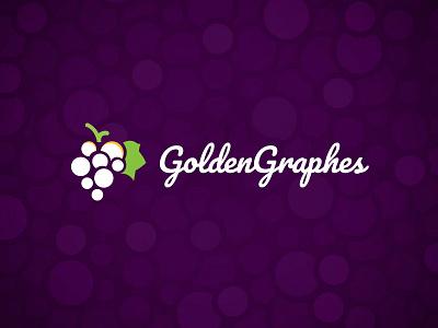 Golden Graphes Logo WIP winelogo identity illustration vector wip logo grape golden