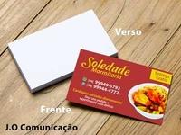 Cartão de visita Soledade Marmitaria