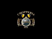 Creation and development logo  Choperria Champer