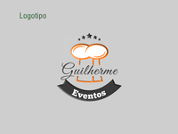 Creation and development of logo Guilherme Eventos