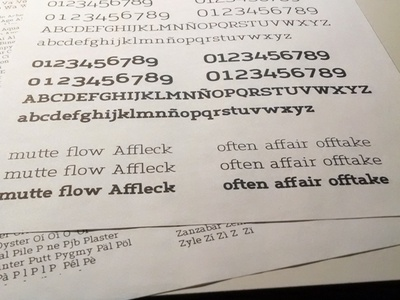 Mutte Slab print tests