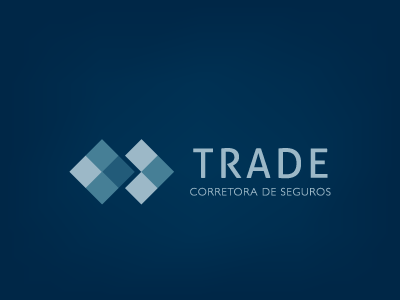 Trade Corretora design branding marca logo