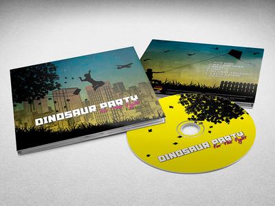 For the Fight cd design album art digipak cd