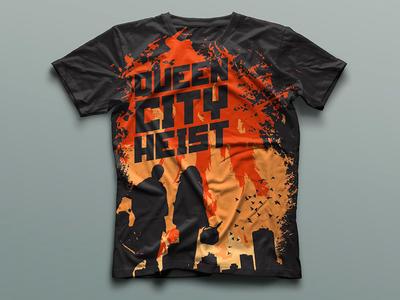 Queen City Heist band merch apparel shirts