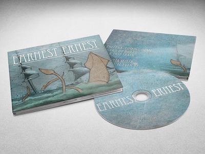 Earnest Ernest band merch music album art