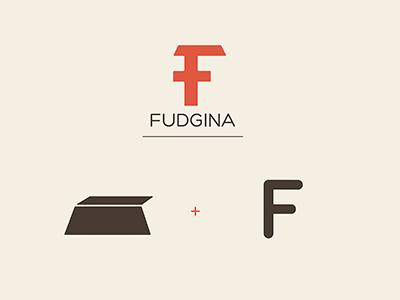 Fudgina Chocolate Bar Logo