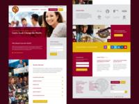 National Society of High School Scholars Website Redesign