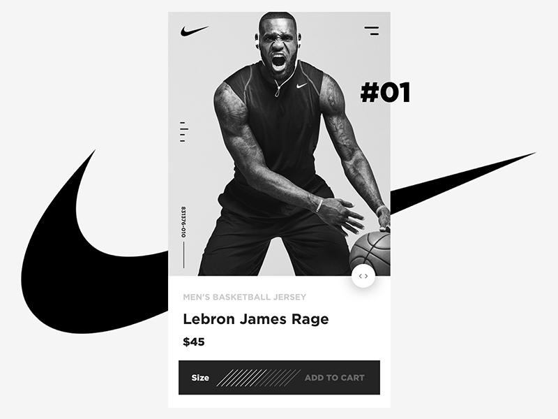 Nike Mobile Lebron James Rage By Greg Norman On Dribbble