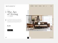 Interior Design Ecommerce Website