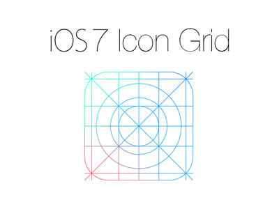 Ios 7 Icon Grid