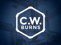 CW Burns Logo