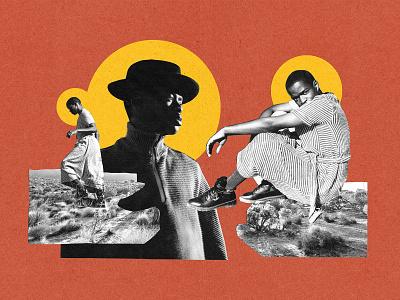 Niza Jay on The Photographic Journal desert los angeles photograph artwork collage art design print photoshop