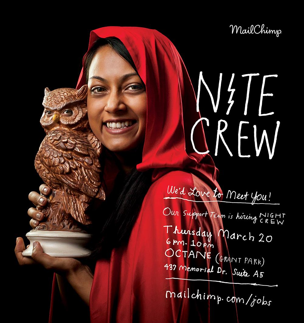 Nite crew recruiting ad