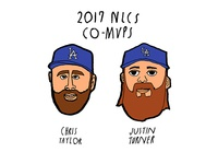 2017 NLCS Co MVPs
