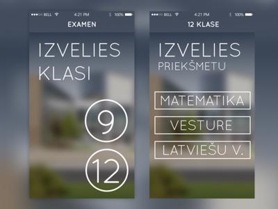 State Examination App