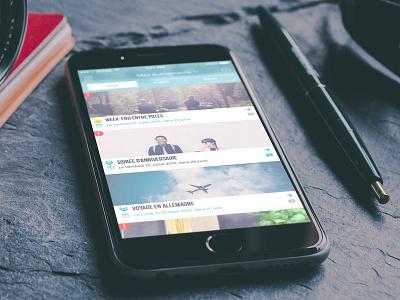 TamenKOA Apps Interface mockup organizer manager events ios mobile app ux ui