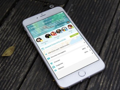 TamenKOA Event Interface mockup organizer manager events ios mobile app ux ui