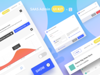 SAAS Admin Web UI Kit by Aboutgoods