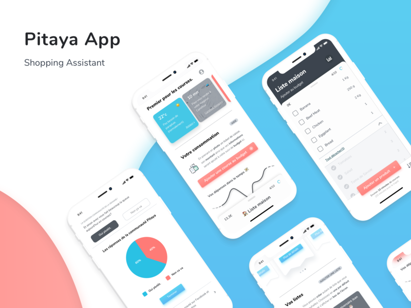 Pitaya App Concept product design ui app uidesign application design mobile application