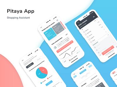 Pitaya App Concept product design ui app uidesign application design mobile application