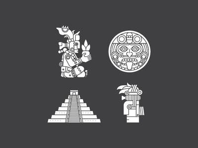 Maya Illustrations
