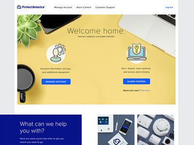 MyProtectAmerica Homepage