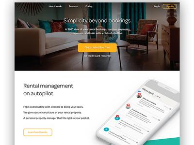 Rental Booking Website website rentals airbnb