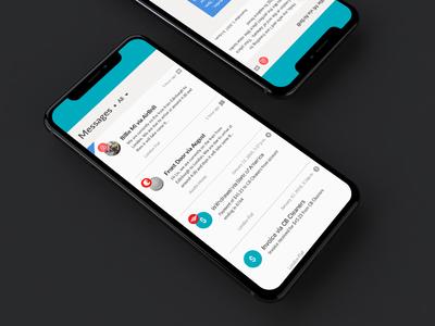 Rental Booking Message Inbox email messaging website rentals airbnb