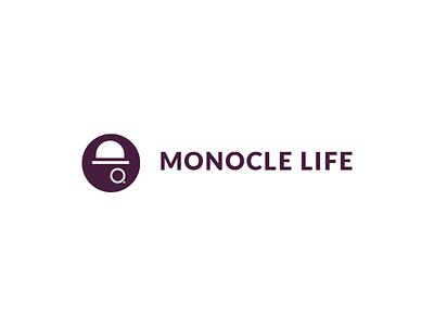 Monocle Life typography branding design logo