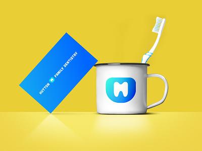 Family Denistry logo design brand and identity dentist logo dentist