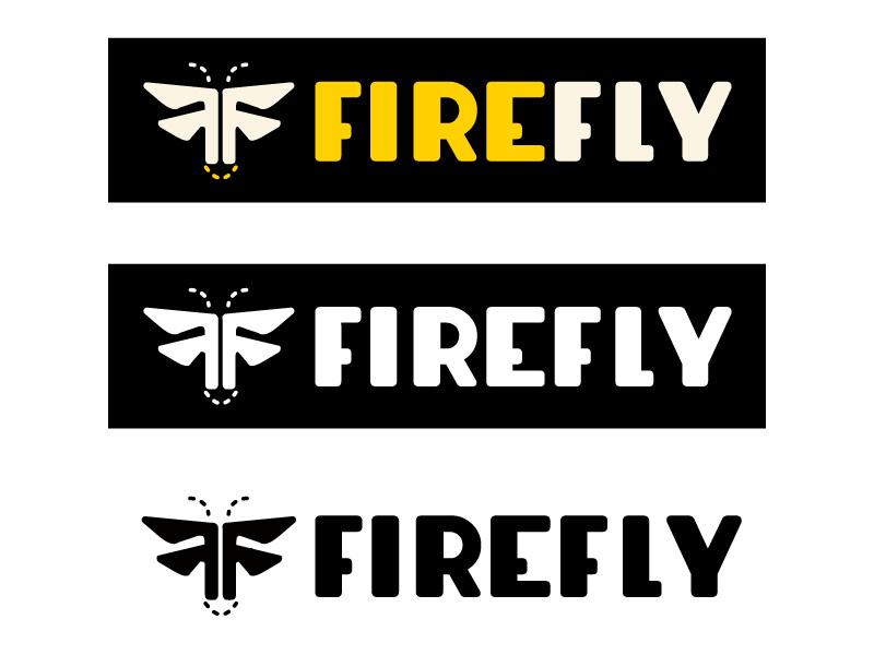 Firefly Logo illustrator branding logomark firefly logo