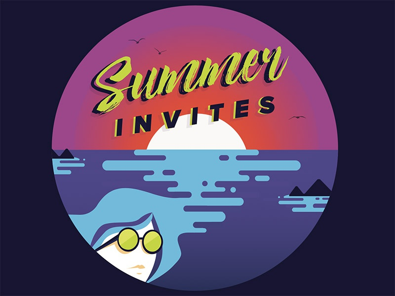 Summer Invites  trill electronic invites summertime summer music
