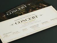 Concert Invitation