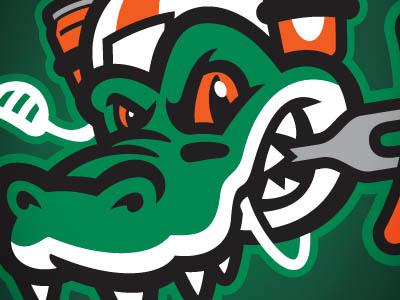 TAILGATORS alligator alligators mascots mascot tailgators tailgator