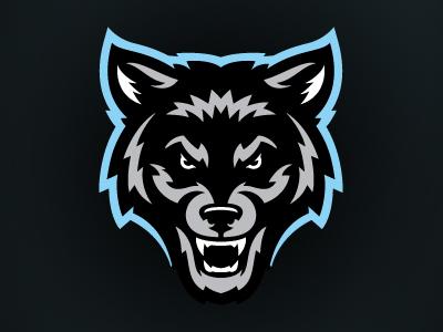 Wolf pack logo design - photo#41