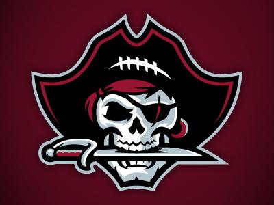 Pirates Logo Skull Buccaneers by J...