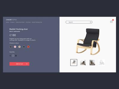Online Furniture Retail Concept