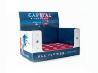 Capital Cannabis Counter Display