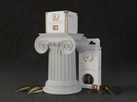 Apollo Grown   Custom Pillar Display with Packaging