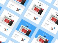 Startup tracker - Header Iterations