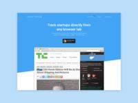 Startup Tracker - Final Header