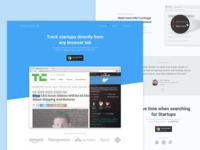 Startup Tracker - Final Landing Page