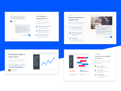 Features - Smartbnb Website redesign