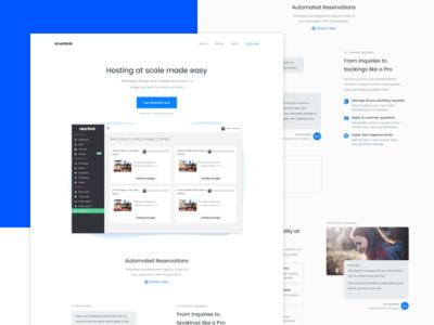 Landing Page - Smartbnb Website redesign
